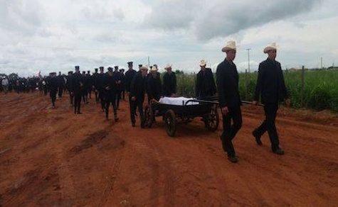 Abraham Fehr: Erster Toter auf neuem Friedhof