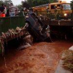 Tödlicher Unfall nach besonders starkem Regen