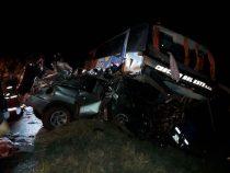 Schwerer Verkehrsunfall nahe Coronel Oviedo