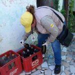 79% der Häuser in Chacarita mit Mückenbrutplätzen
