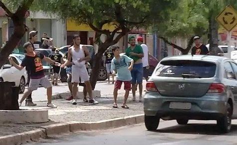 """Krieg des """"Spaßes"""" zwischen Paraguayern und Brasilianern"""