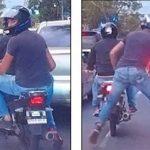 Neuer Modus Operandi der Motorradbanditen erfasst Asunción