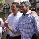 Marito und Santi ziehen an einem Strang