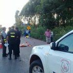 Fataler Unfall an der Kreuzung von Tebicuary