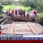 Tödlicher Brückensturz