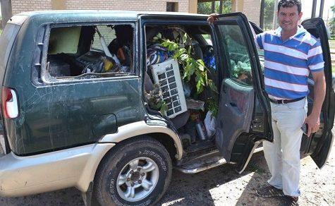 Fahrzeugbrand auf der Transchaco Route mit fatalen Folgen
