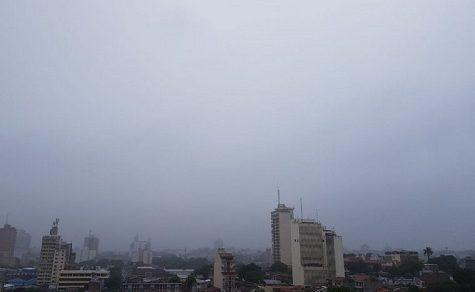 Angenehmes Wetter, Südwind und Nieselregen