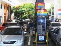 Wieder einmal Kraftstoffmangel