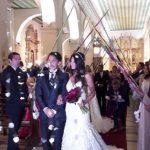 Hochzeit mit Speeren besiegelt