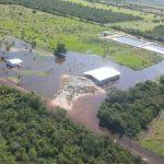 Überschwemmung, Umweltverschmutzung und Notstand