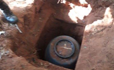 Unterirdische Depots der EPP entdeckt