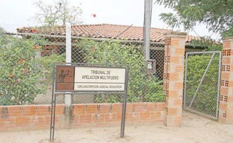 Justiz in Boquerón kurz vor dem Kollaps