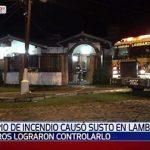 Klimaanlage setzt Haus in Brand