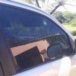 Mennonit in seinem Fahrzeug beschossen