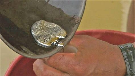 Quecksilber und die Goldgewinnung