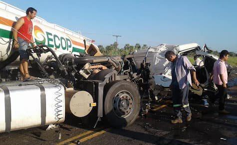 Schwerer Unfall im Chaco