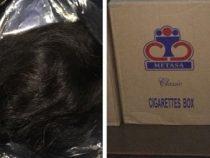 Zigaretten und Haare im Wert von 700 Millionen Guaranies beschlagnahmt