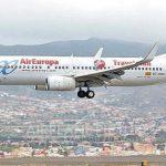 Air Europa mit technischen Problemen