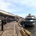Kriegsschiffe aus Brasilien für die Öffentlichkeit zugänglich