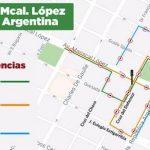 Kreuzung Mcal. López und San Martín: Links abbiegen ab Dienstag verboten