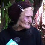 90-jährige Deutschstämmige in Armut