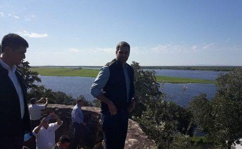 Der neu gewählte Präsident im Chaco