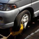 Braver Steuerzahler bekommt Parkkralle verpasst