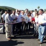 Neue Straße eingeweiht, aber nicht nutzbar für schwere Lastwagen