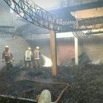 32 Tonnen Yerba-Mate gehen in Flammen auf