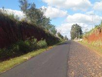 Das Recht des Stärkeren gilt auf einer Straße in Paraguay