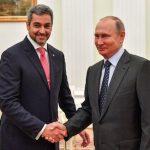 Abdo Benítez und Putin trafen sich in Moskau