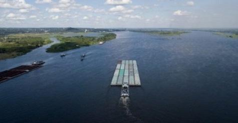 Der Paraguay-Fluss erreicht den niedrigsten Pegel seit 100 Jahren