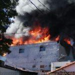 Großbrand im Mercado 4