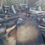 Elektrisches Heizgerät löst Brandkatastrophe aus
