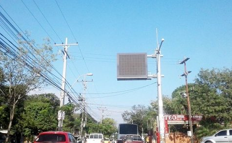 Zu moderne Technik in Asunción zum Einsatz gebracht