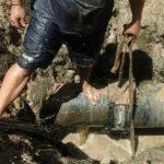 """Das """"Pech"""" klebt an den Wasserrohren in Guairá"""