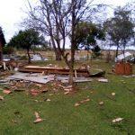 Schwerer Sturm zerstört sieben Häuser in Guairá