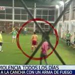 Fußballspieler bedroht anderen mit Schusswaffe