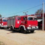 Brände in Filadelfia halten Feuerwehr in Atem