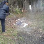 Ein Exempel gegen das illegale Müllverbrennen statuiert