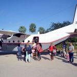 Flüge in den Chaco werden fortgesetzt