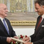 Österreichs Botschafter übergibt Beglaubigungsschreiben