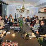 Paraguays Geschäftsleute zufrieden mit Marito's Team