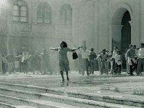 Ein Foto ging um die Welt und markierte den Widerstand gegen Stroessner