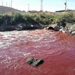 Ein Fluss aus Blut