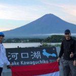 Paraguayer erklimmen den höchsten Berg in Japan
