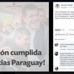"""""""Mission erfüllt, danke Paraguay"""""""