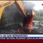 San Bernardino droht eine Umweltkatastrophe