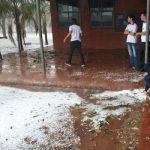 Paraguay: Starker Hagelschlag im zentralen Chaco