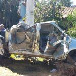 Schlagloch auf der Transchaco-Route: Fahrzeug überschlägt sich